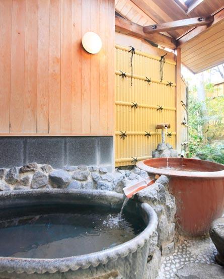 露天付き貸切温泉